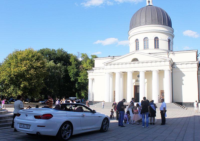 Katedralen i sentrum, Chisinau.