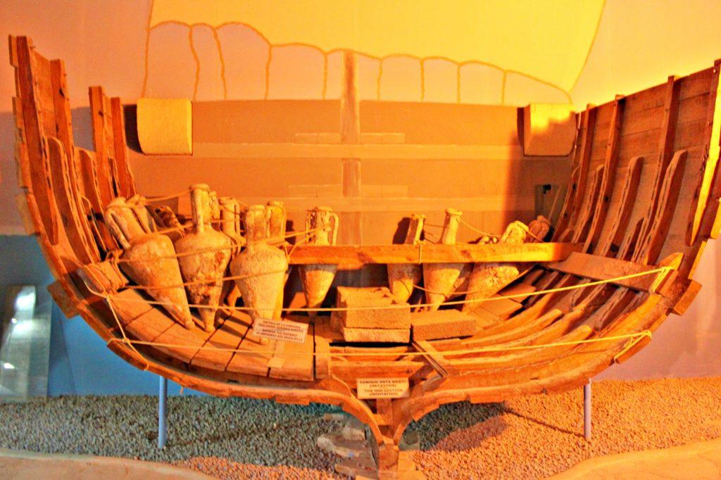 EN GANG: Kyreniaskipet var et av sin tids stoltheter på sjøen.