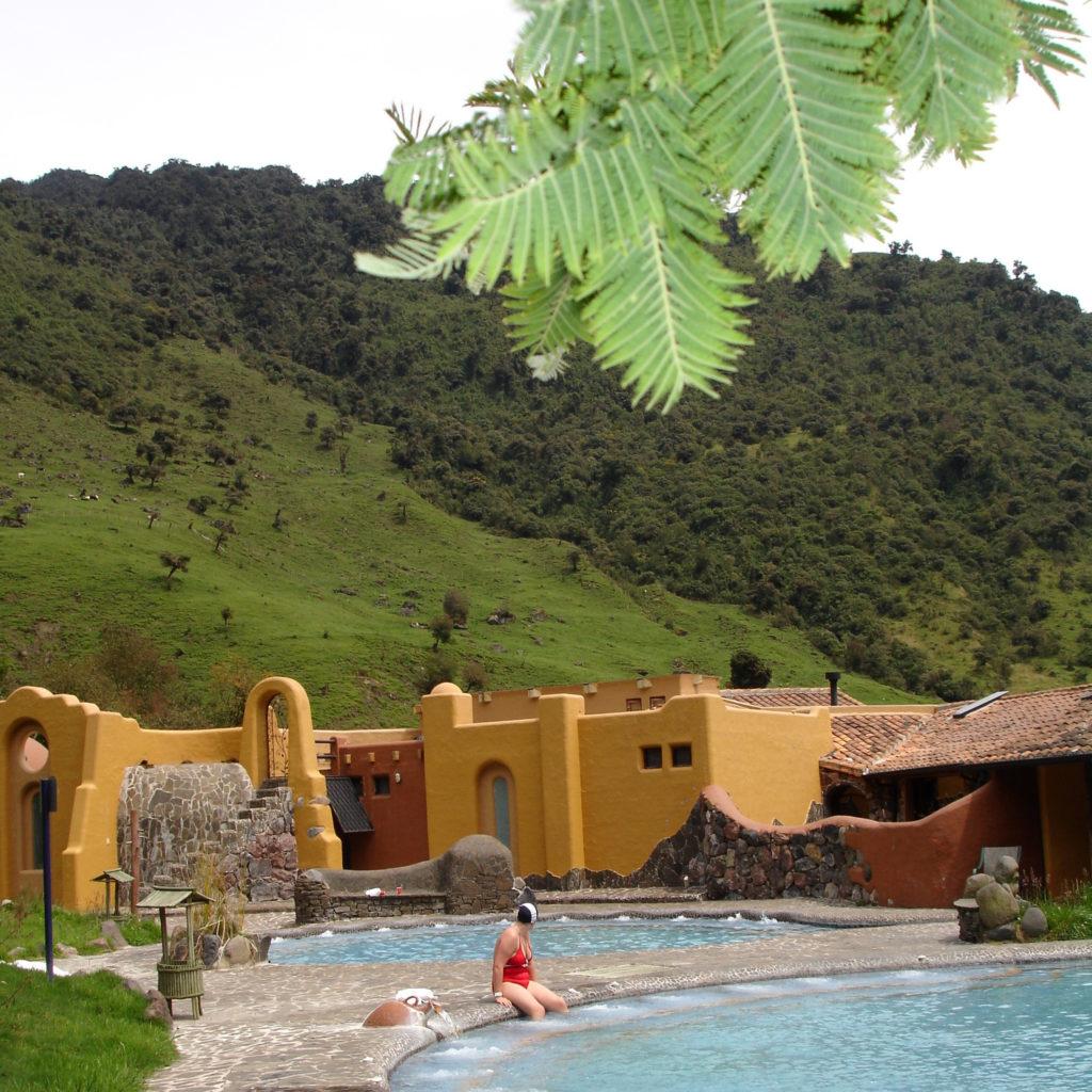 Forfriskende og avslappende i overgangen mellom Andes og Amazonas.