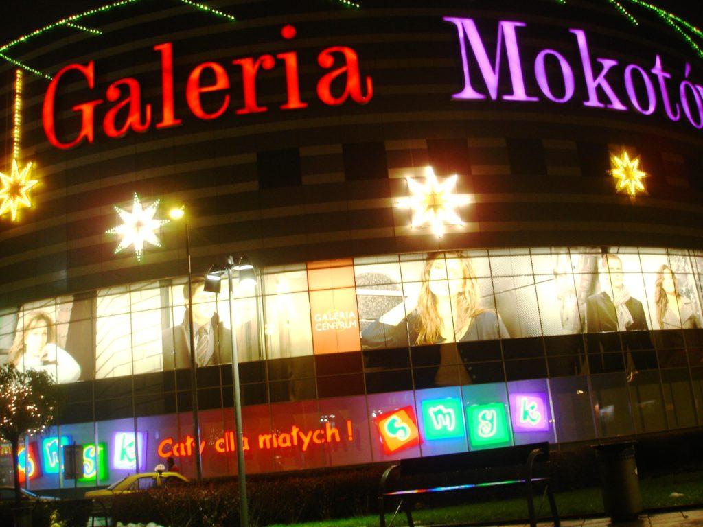 Galeria Mokotowa er en av de største shoppingsentrene i Warzawa og har det meste innen de fleste merker.