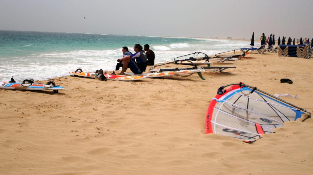 Stranden i Santa Maria er flere kilometer lang.jpg