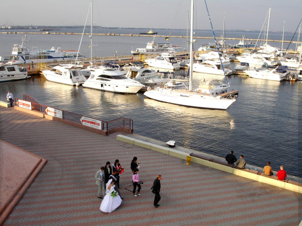 Odessa havn.