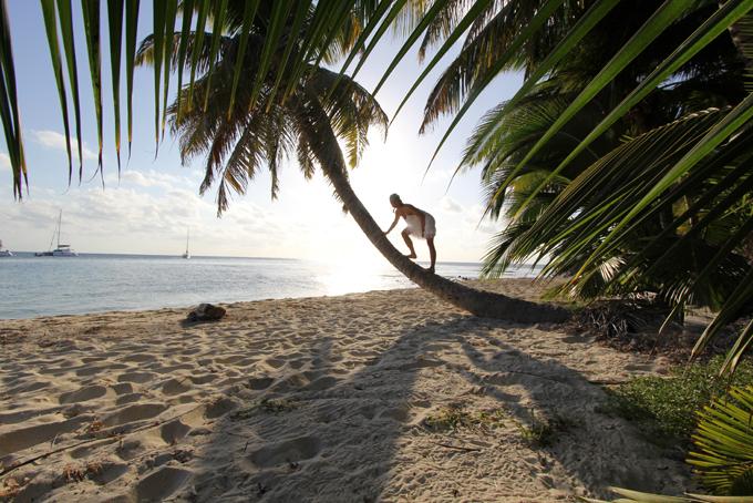 Ranguana Caye.