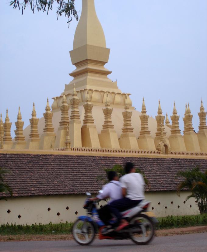 Stupaen That Luang.