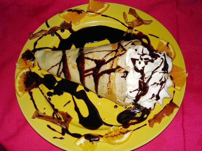 Fransk crepe- pannekake.