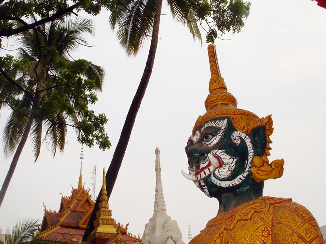 theravadabuddismen er religion i Laos