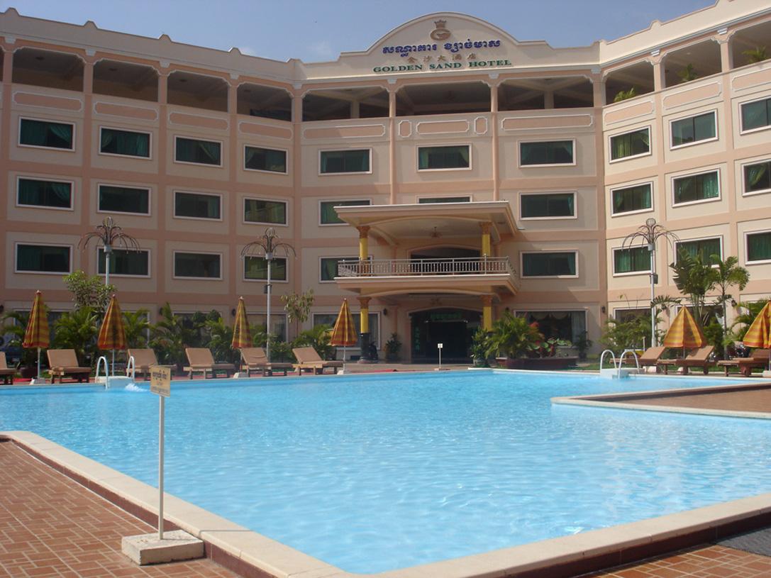 Golden sand hotel.