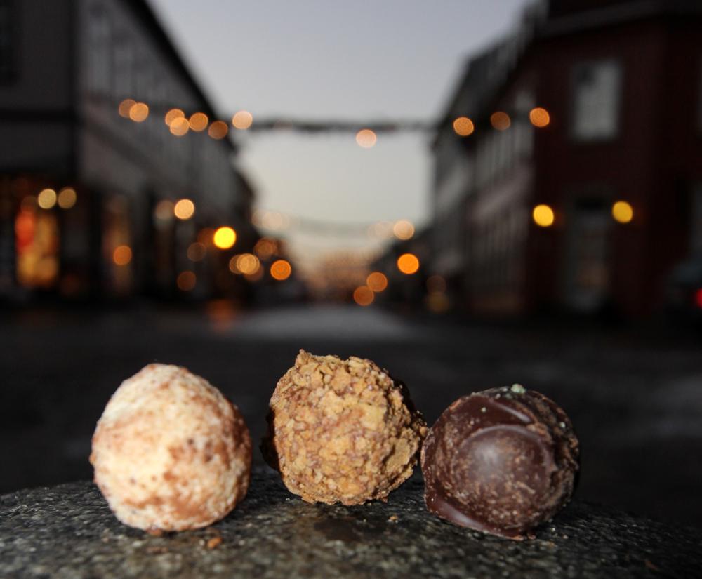 Velkommen til Gamlebyen- velkommen til sjokoladefrotsing!