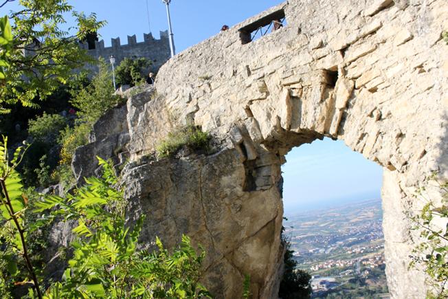La Cesta, en av de tre toppene.