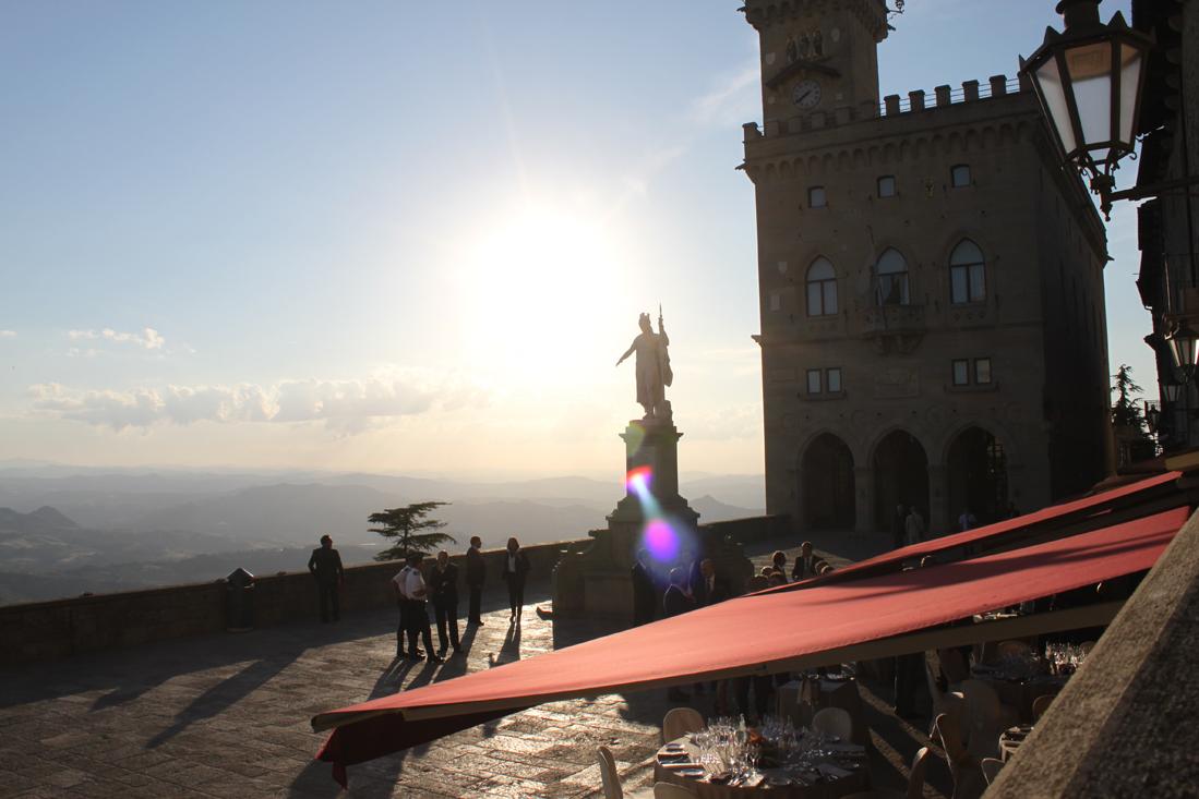 San Marinos Palazza de Libertá