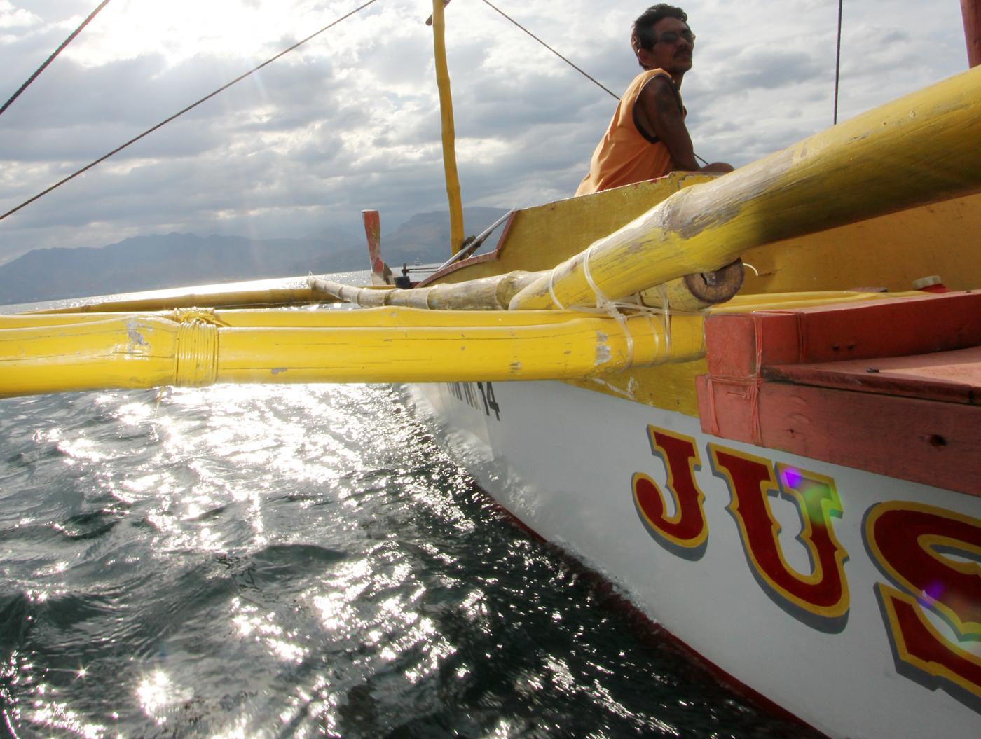 Båten heter Jusynette, oppkalt etter eierens datter.