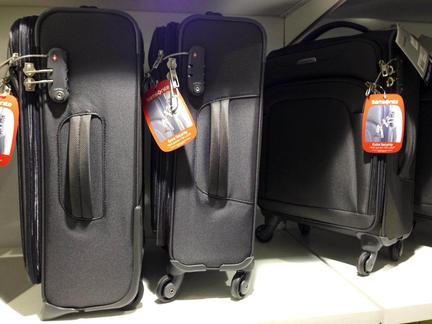 Disse koffertene kan du ta med som håndbagsje.