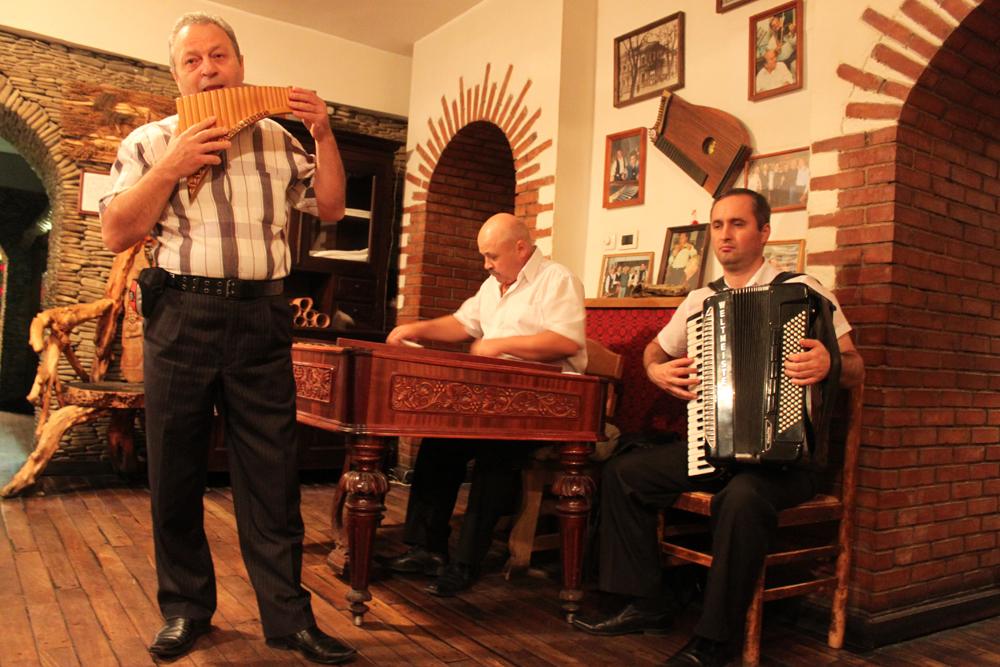 Tradisjonell musikk på La Taifas.