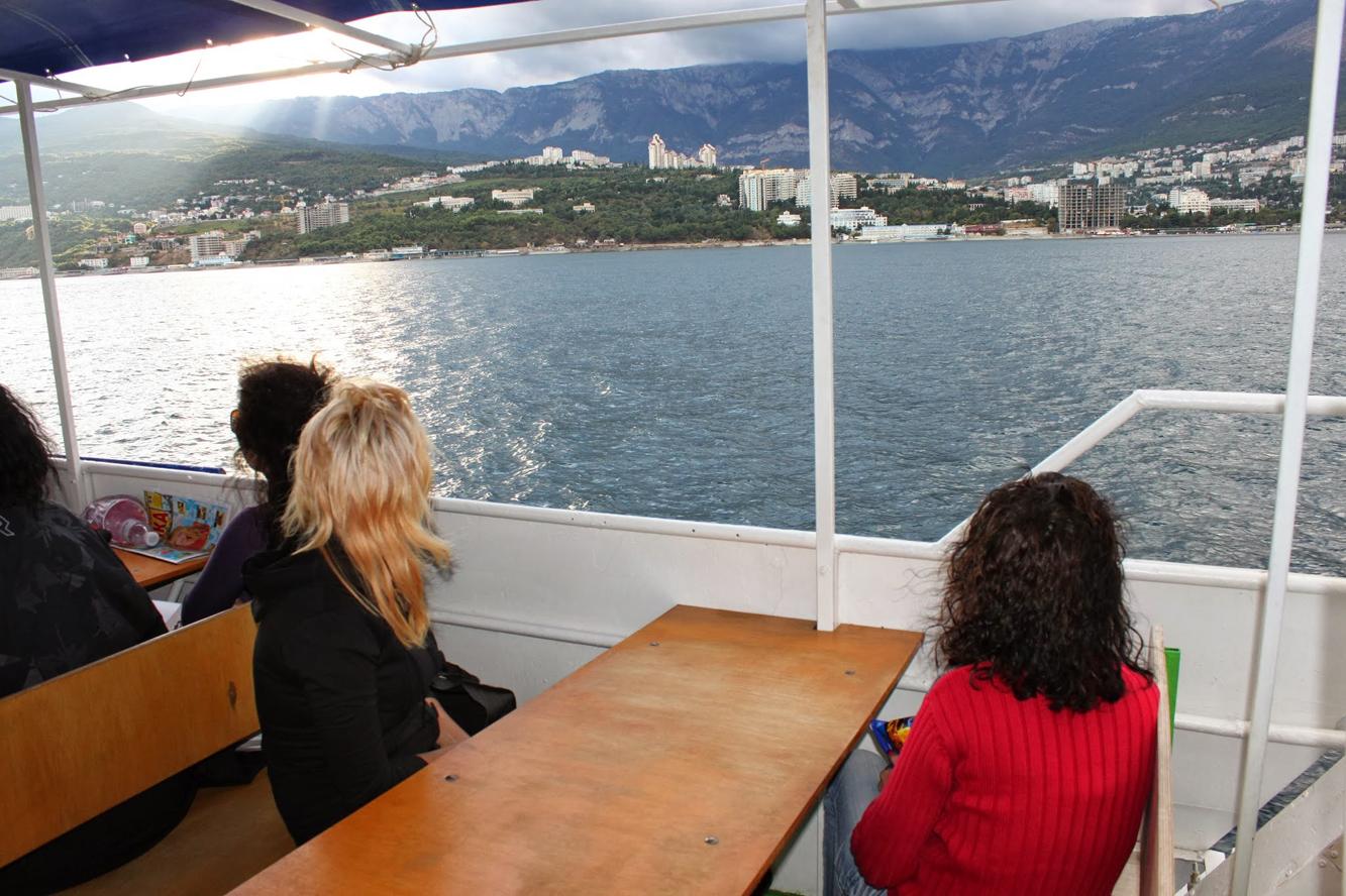 Krimkysten er like flott som middelhavsrivieraen.
