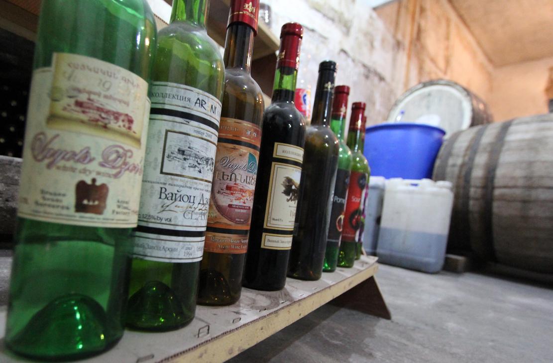 Areni vinkjeller.