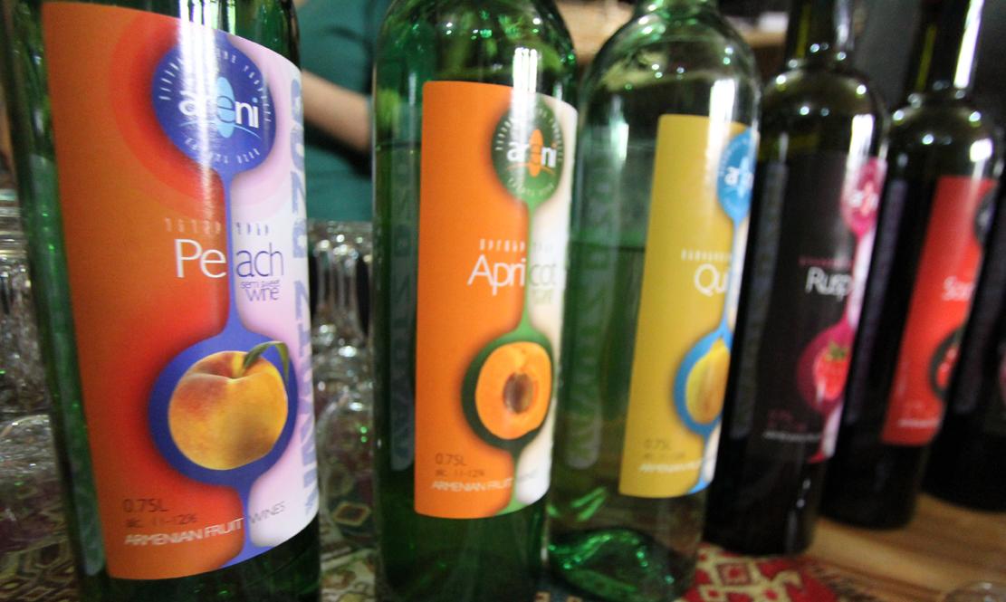 Fruktviner fra Areni.