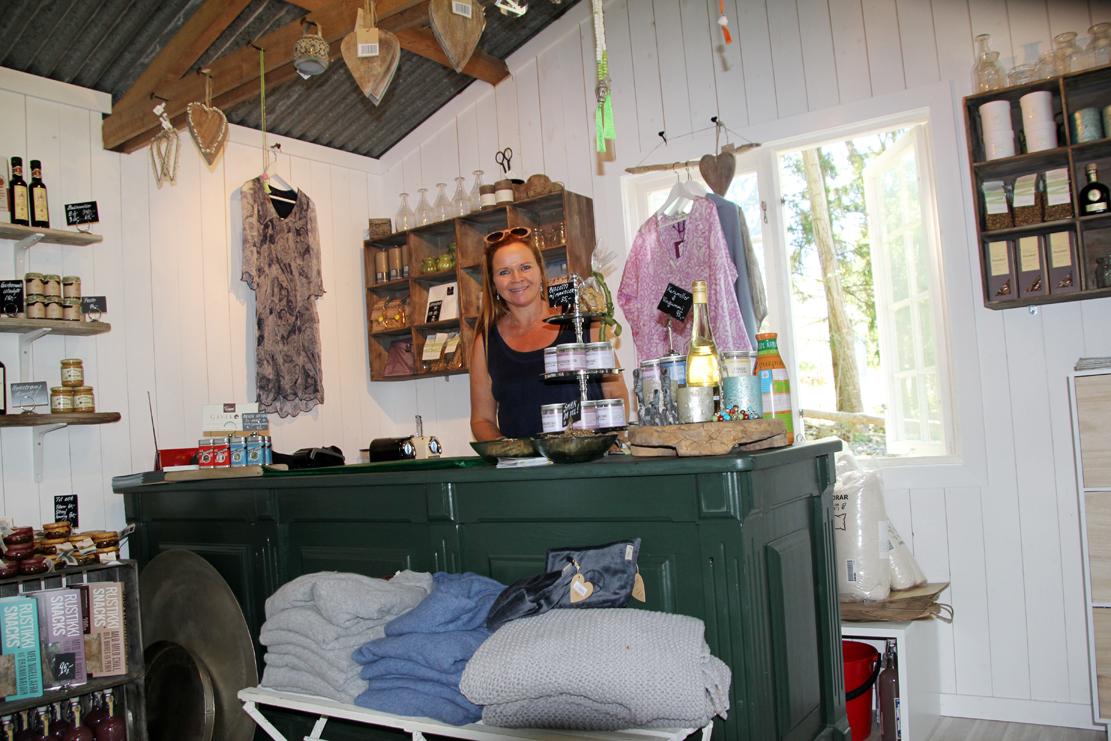 Anne Sanders-Pehrson åpnet gourmet-butikken i fjor.