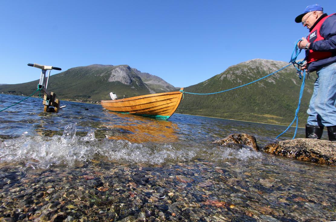 Fiskebåten- «plattgatteren» som min gammelonkel vant i lotteri for femti år siden.