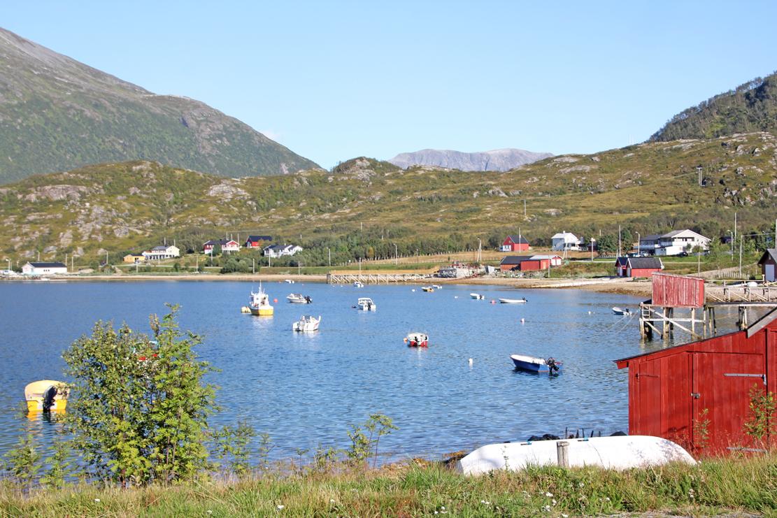 Yttersiden av Kvaløya.