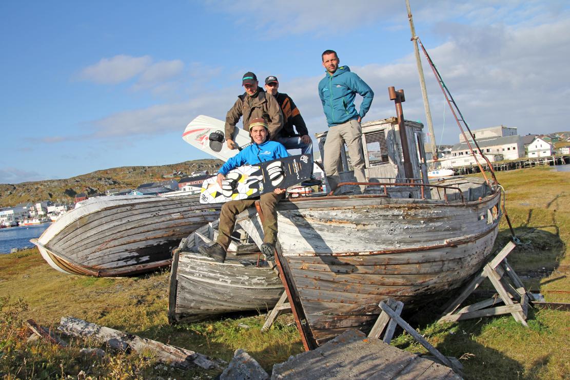 Gamle båter får nytt liv... som kulisser.