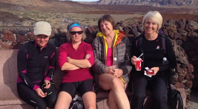 Til topps på Teide