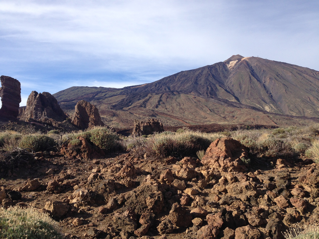 El Teide sørfra.