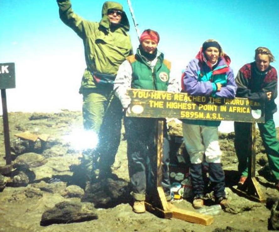 Erfaringen fra Uhuru Peak, 5895 m.o.h i 1994 var nyttig.