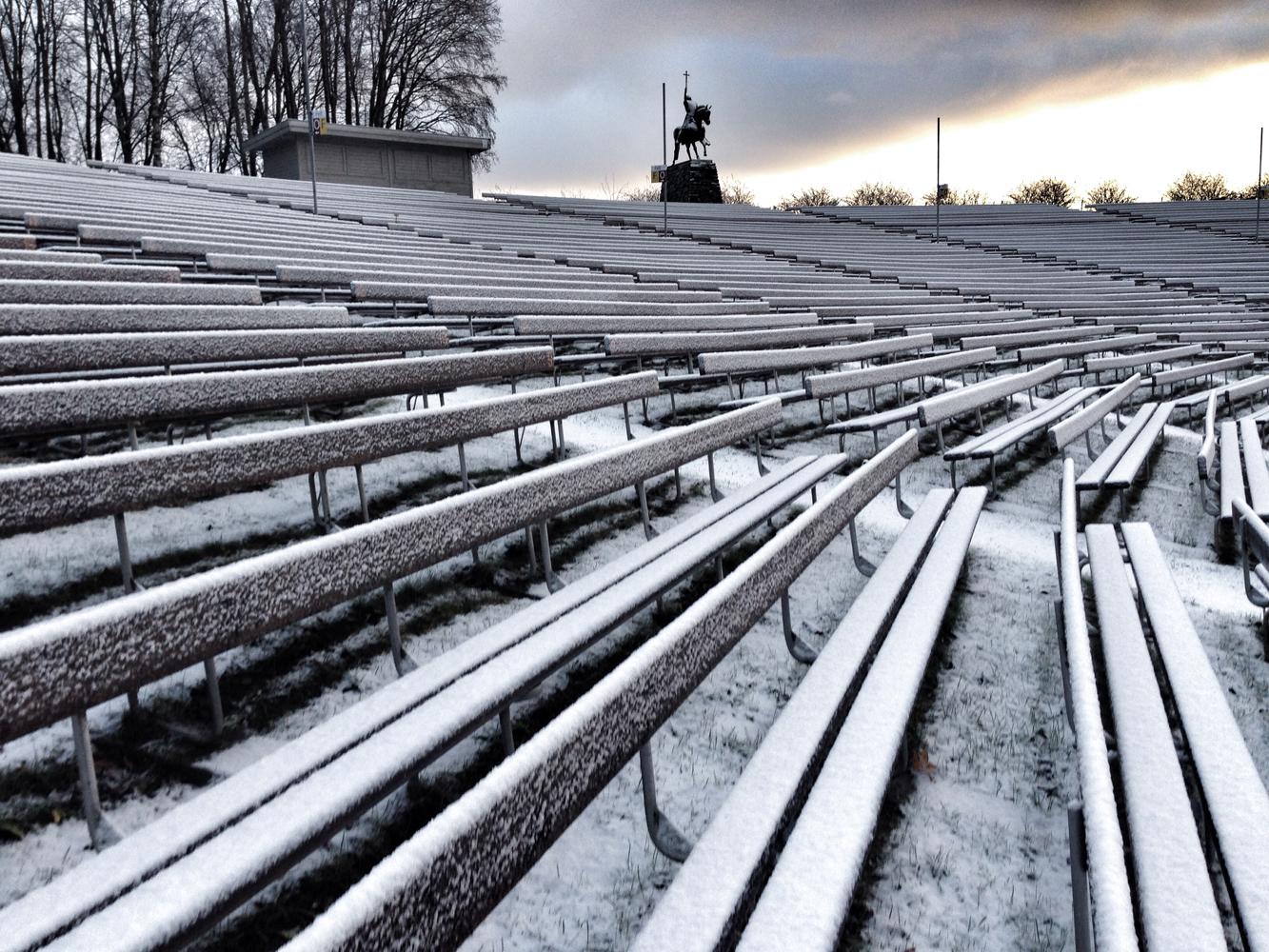 SOMMERSPEL: Amfiteateret, hvor Spelet om Olav den heilge spilles hver sommer.