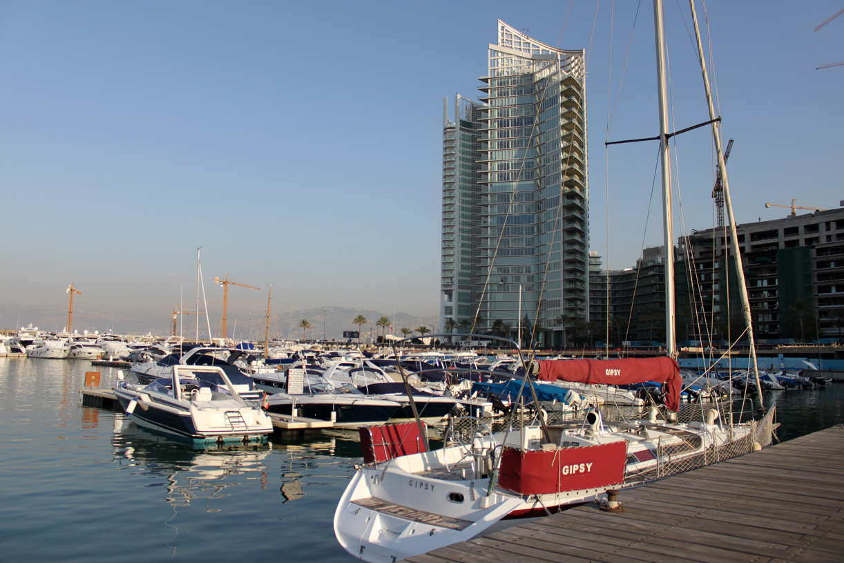 Beirut marina.