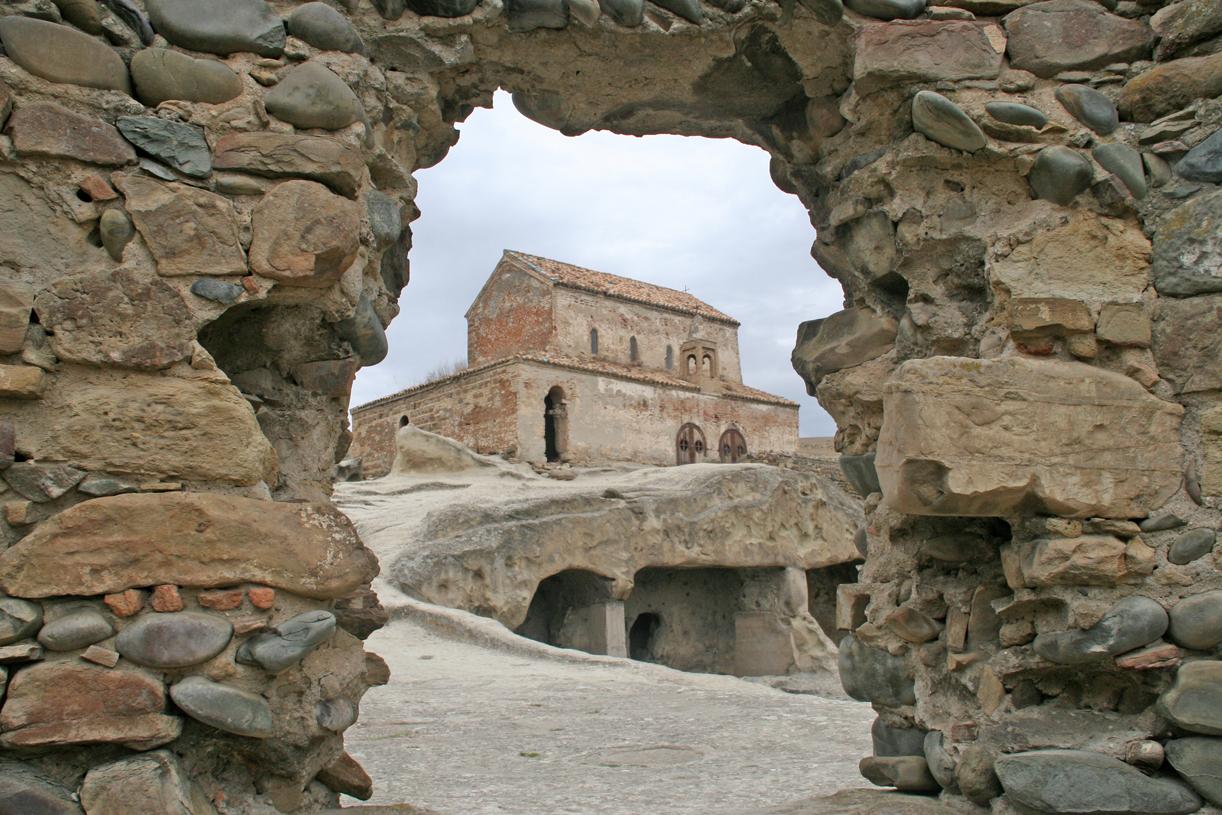 Grottebyen Uplistsikhes, en kort tur fra stalins fødeby Gori.