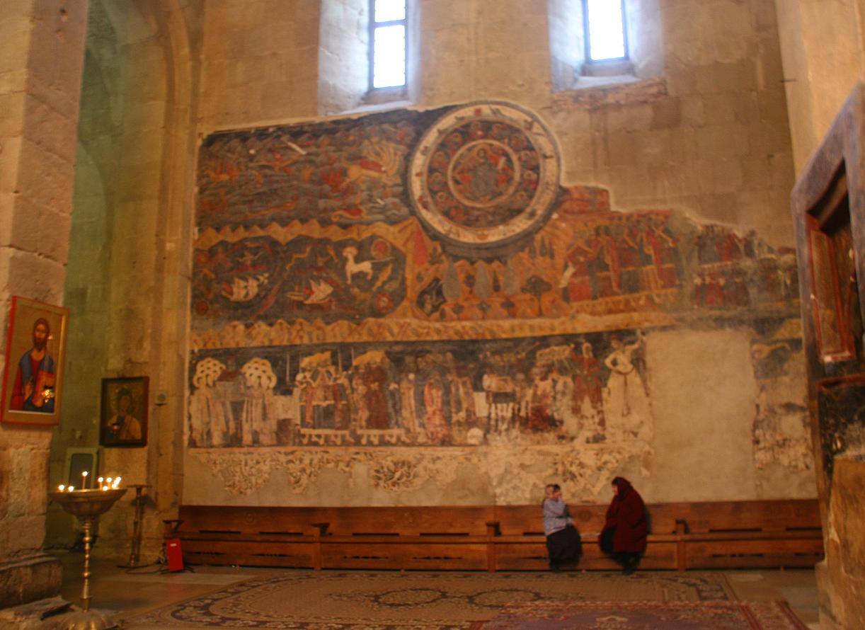 Kirken har stor plass i georgiernes liv.