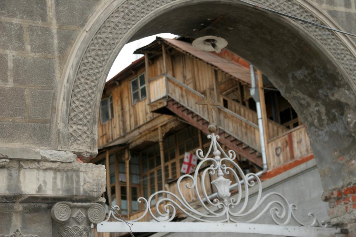 Gamlebyen i Tbilisi.