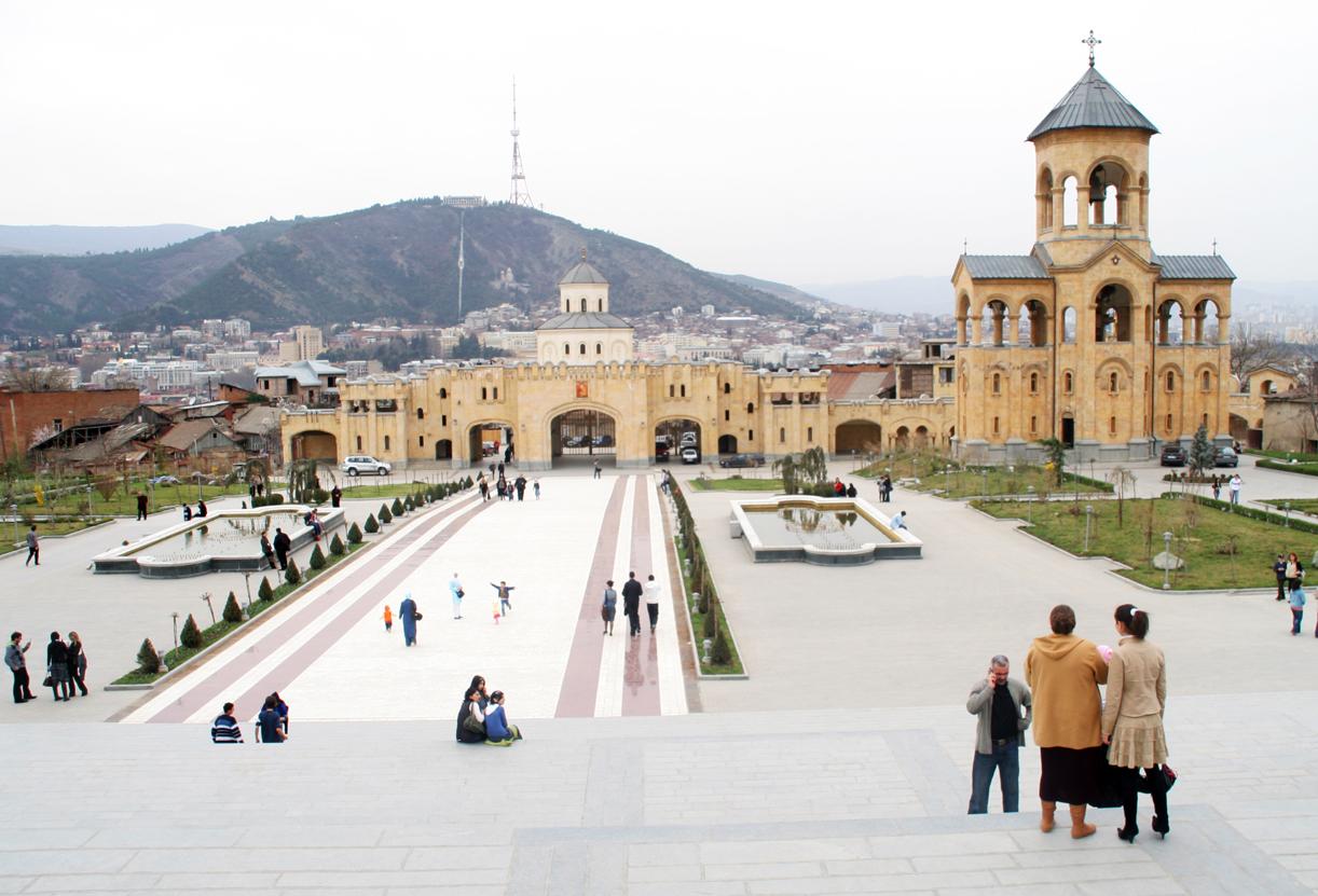 Treenighetskirken i Tbilisi.