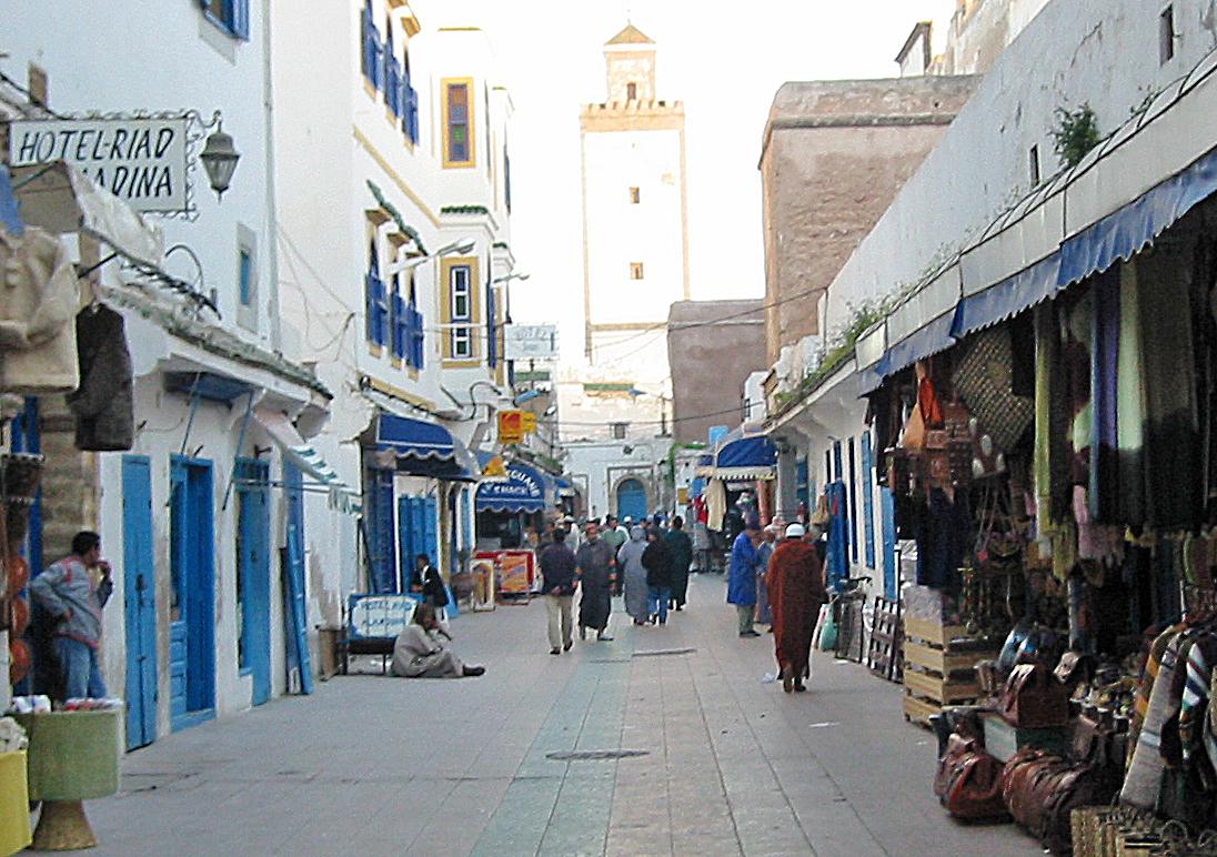 Essaouira, gamlebyen.