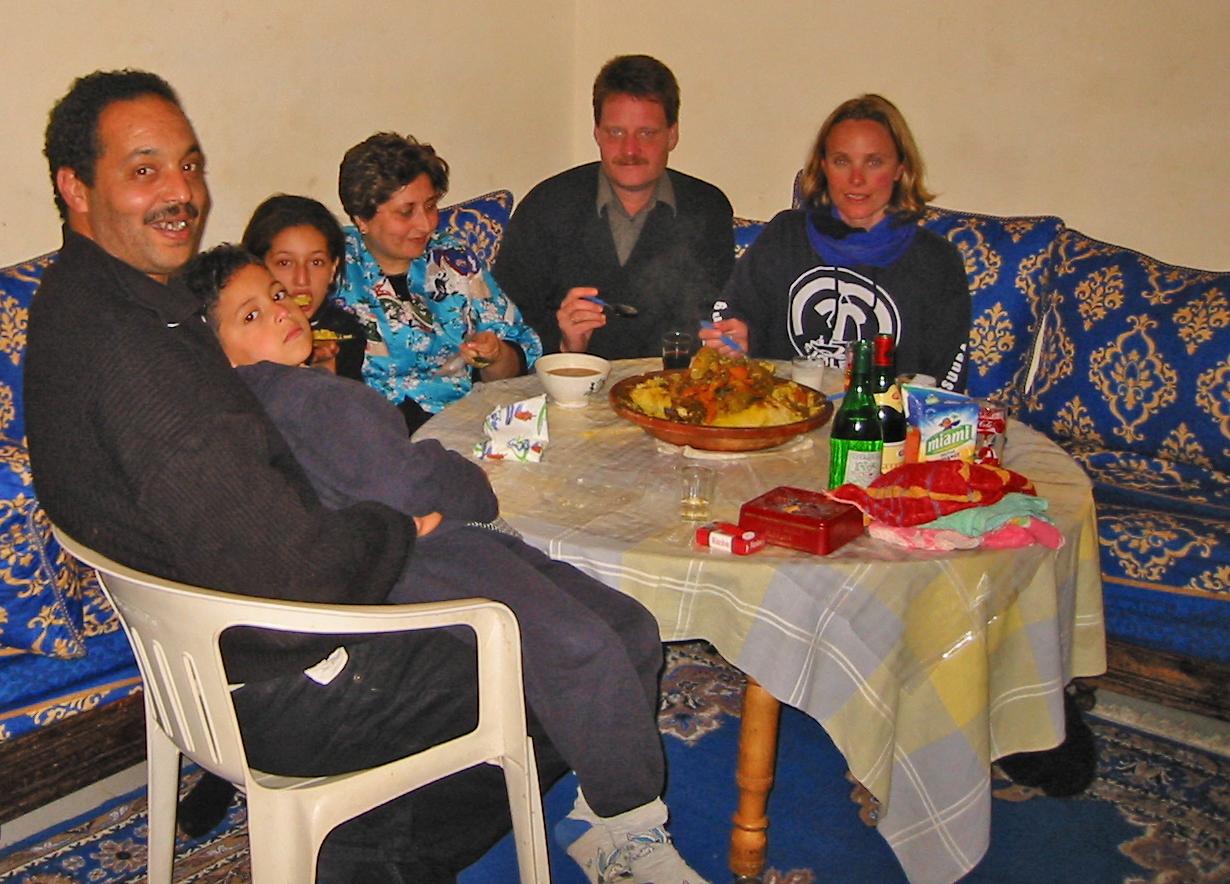 På hjemmebesøk med couscous.