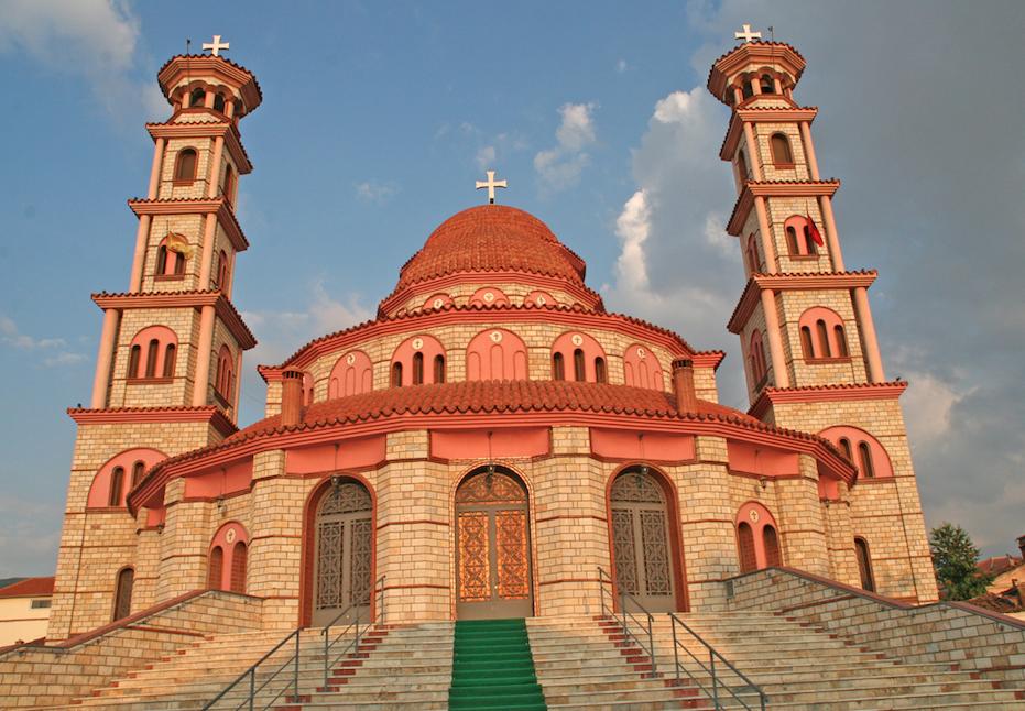 Den ortodokse Kirken i Korca.