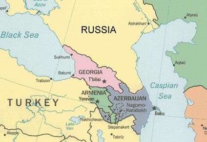 Jerevan ligger under en times kjøring til Tyrkia, Iran og Aserbadsjan. Men det er kun Iran som har åpen grense.