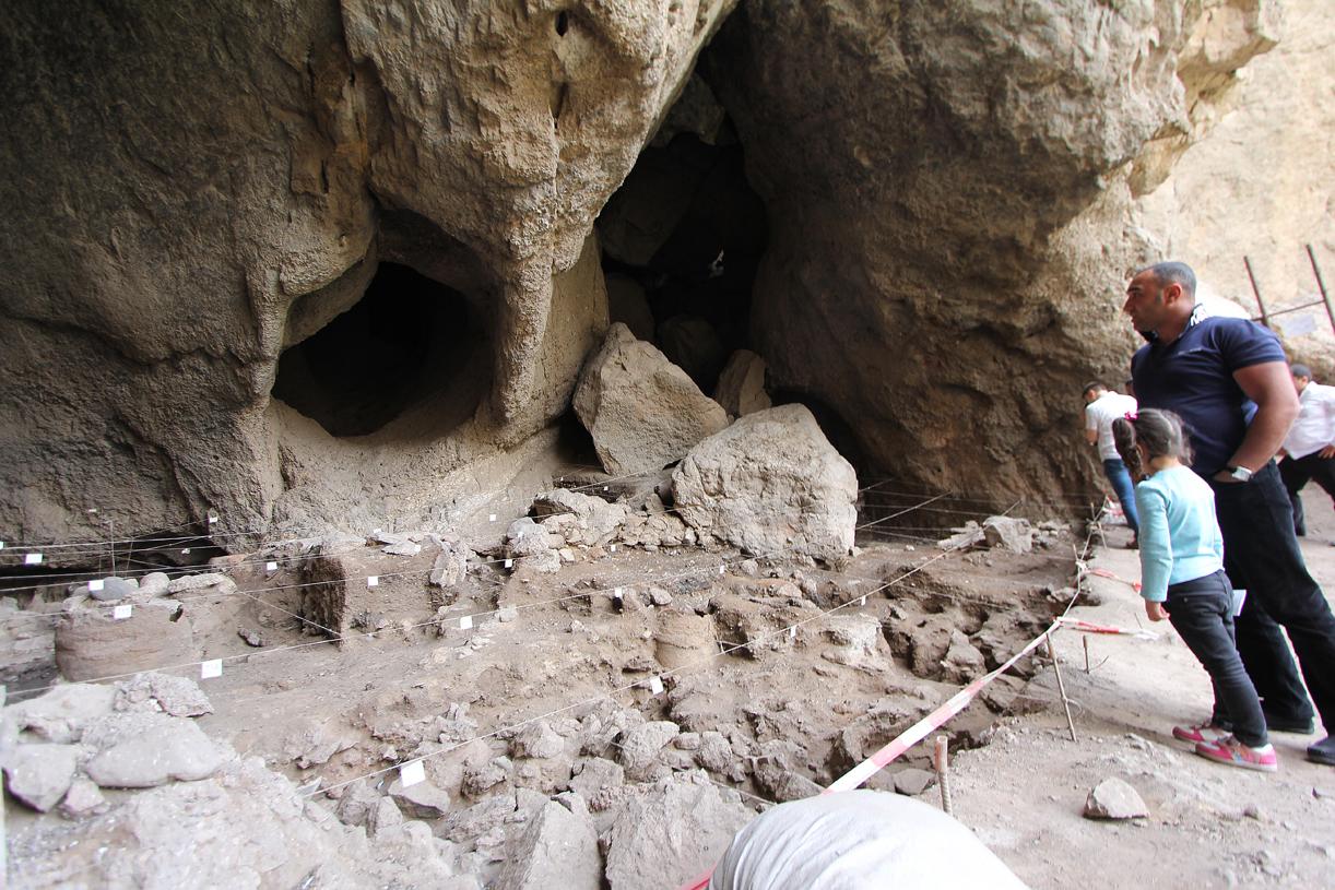Her ble verdens eldste lærsko funnet i 2008.