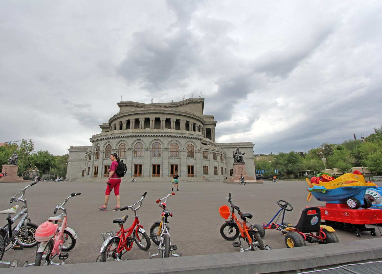 Operahuset i Jerevan.