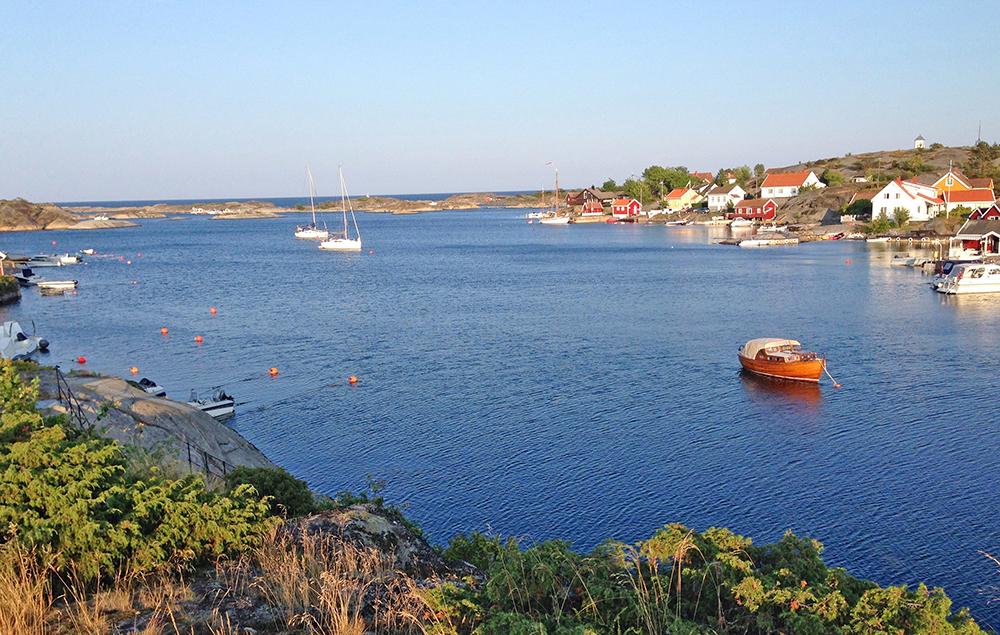 Gamle Portørs tygge havn er nå en ferieidyll.