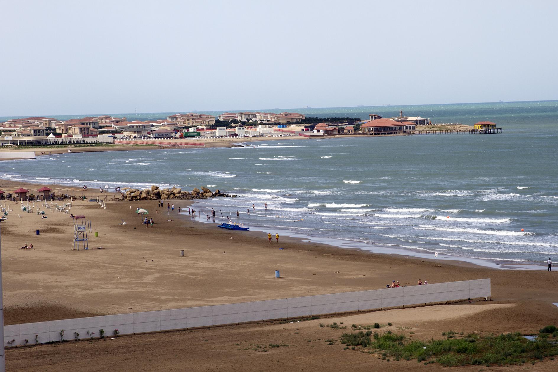 Bilgah Baku Beach, Azerbaijan