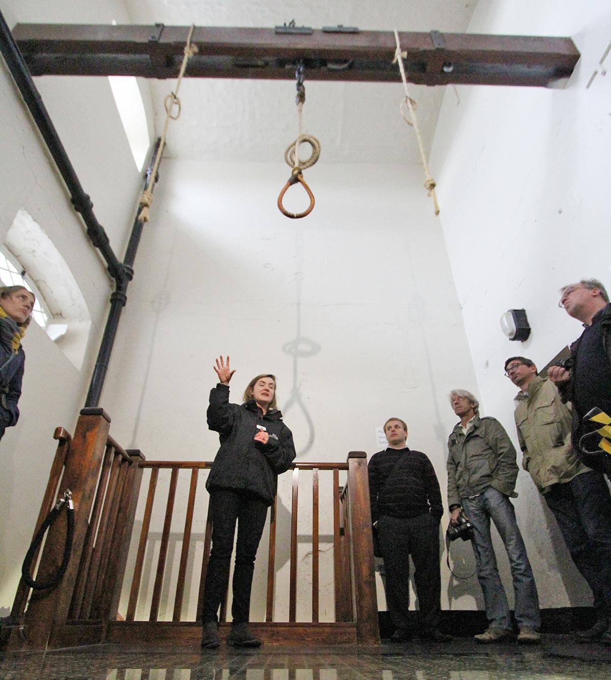 Rommet hvor de dødsdømte hadde sine siste minutter.