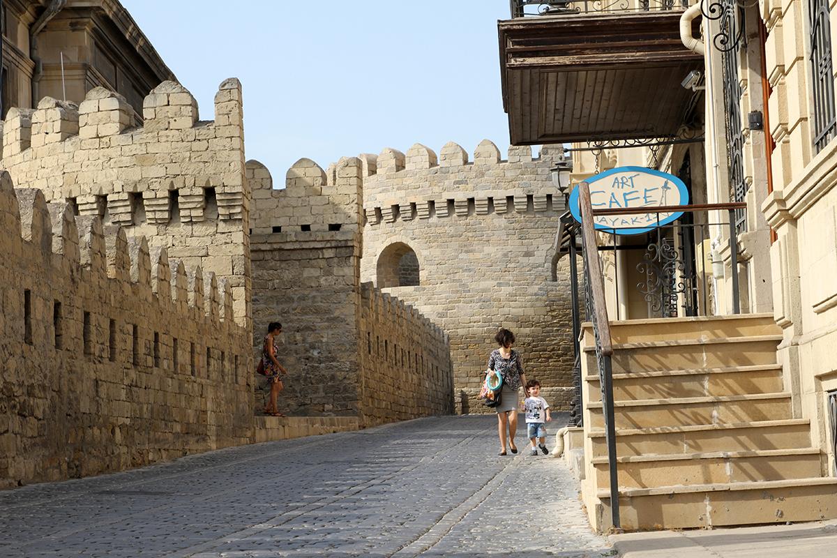 Gamlebyen i Baku.