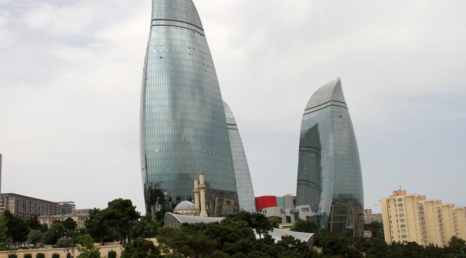 Byliv og badeliv i Baku