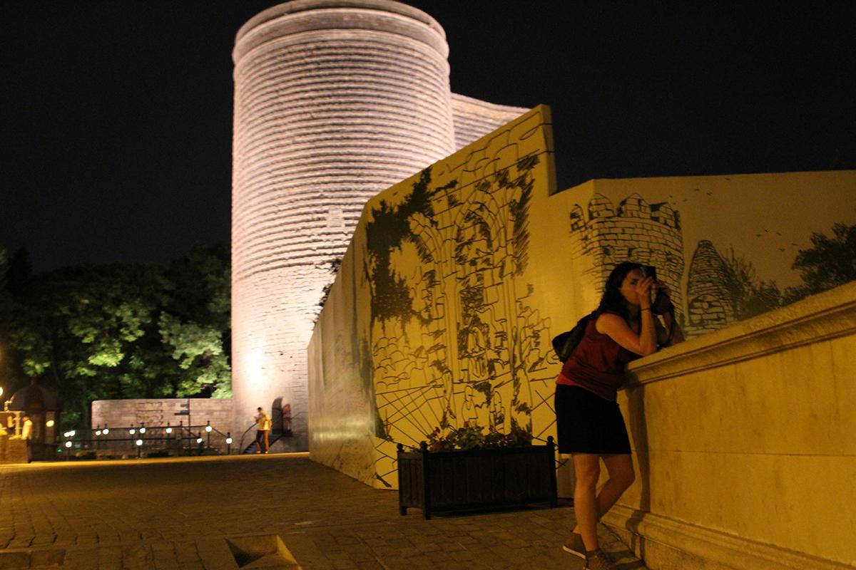 Jomfrutårnet er en av byens hovedattraksjoner.