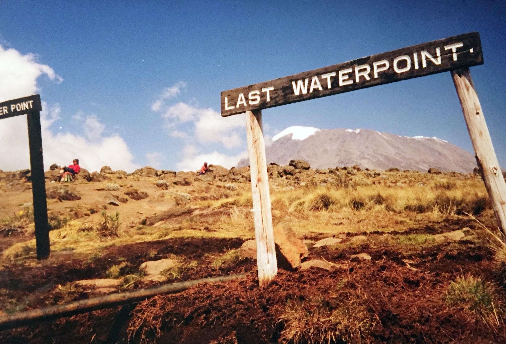 På ca 4000 meter høyde, mellom Horombo hut og Kibi hut. Foto: Linn Krogh Hansen.