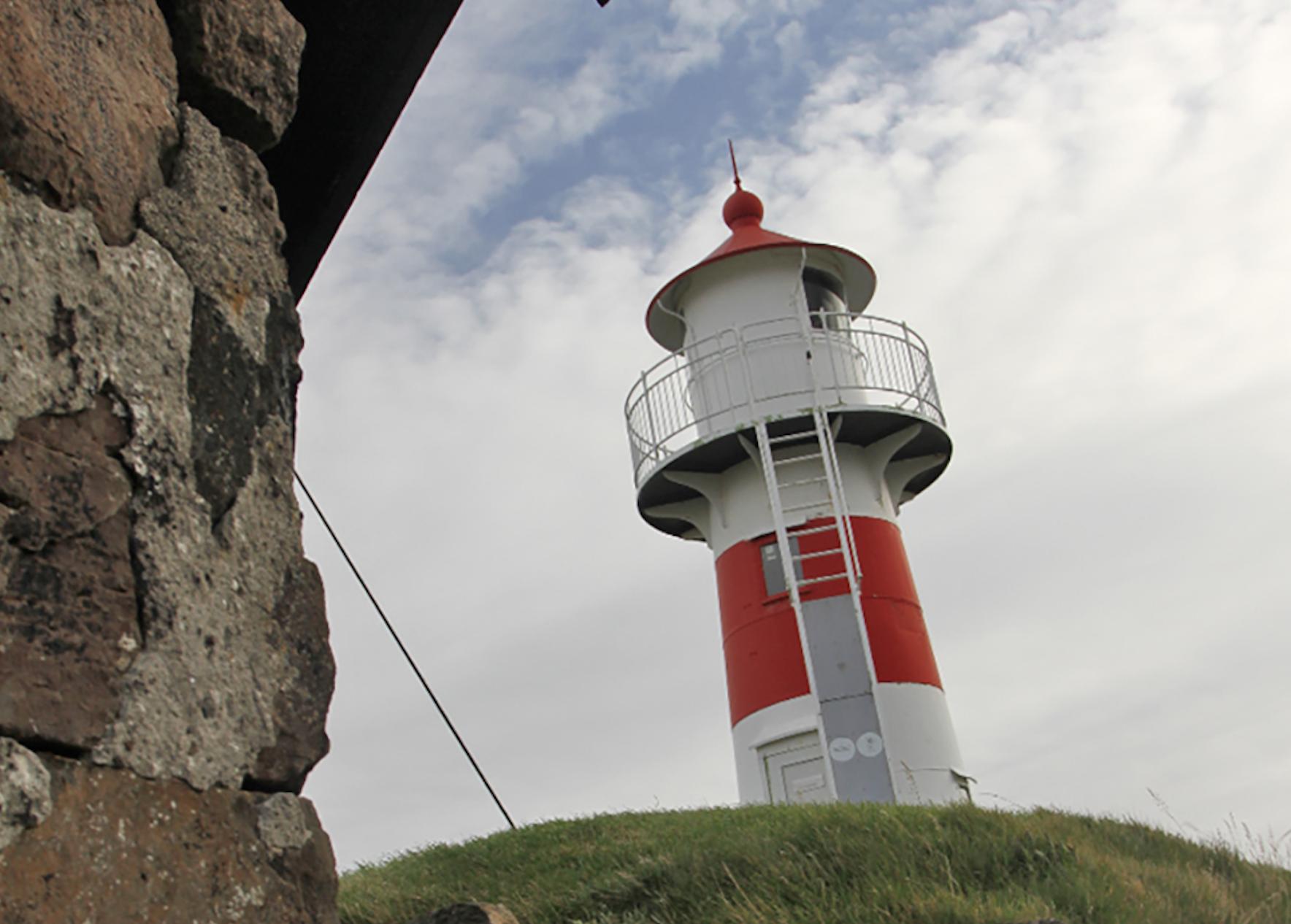 Fyrtårnet på Skansin- Torshavn festning.