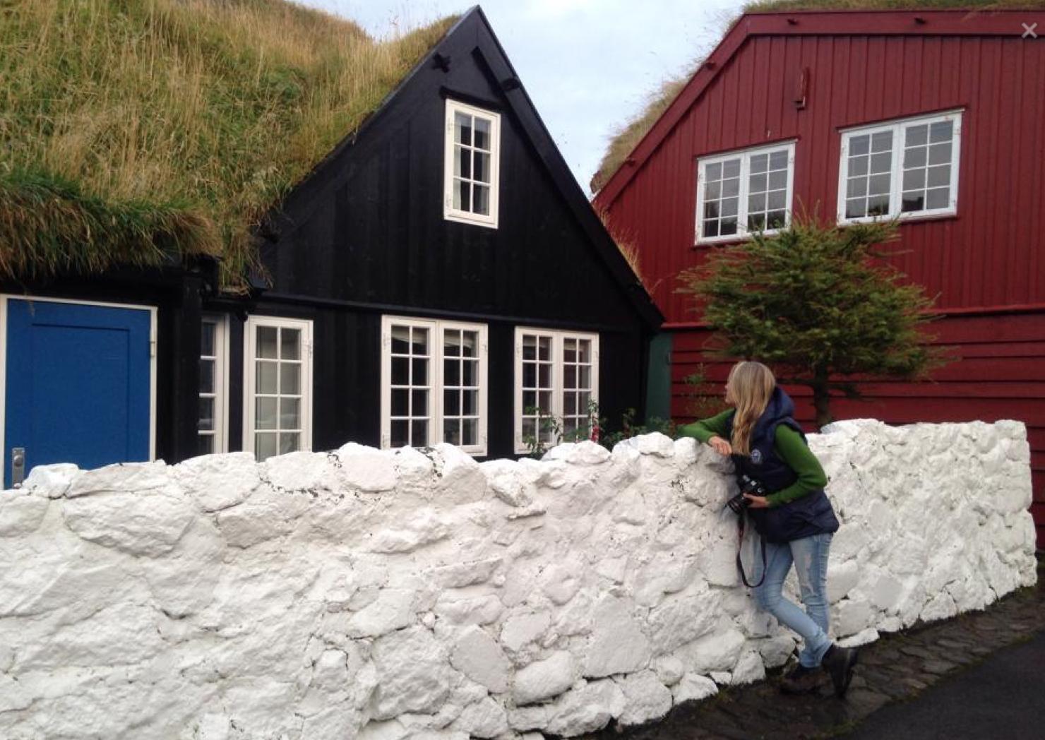 Fasinerende fadsader i gamle Torshavn.