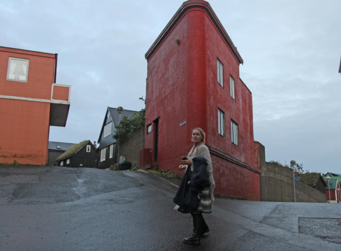 Hjørneshus i Torshavn.