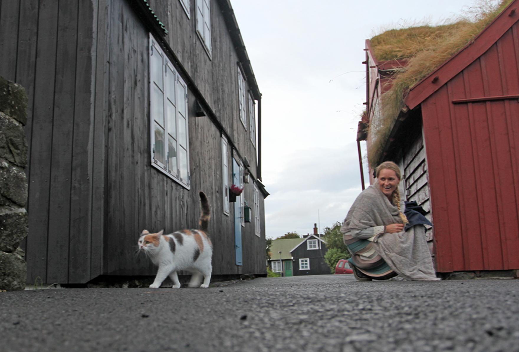 Gamle Torshavn er som et levende folkemuseum.